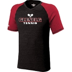 Glenelg Tennis Holloway Unisex Century Cotton/Poly SS Tee