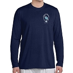 SMS Drama Gildan Youth Poly Wicking Long Sleeve Tee