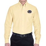 Maryland Mason Grand Masters Logo Classic Wrinkle-Resistant Long Sleeve Oxford