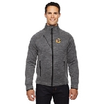 German Society of Maryland North End Men's Flux Mélange Bonded Fleece Jacket