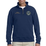 Maryland Mason Grand Lodge Logo Jerzees 50/50 Cotton/Poly Blend 1/4 Zip Pullover - 9.5 oz.